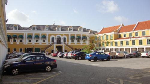 Binnenplaats Fort Amsterdam