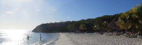 Cas Abao Beach in de namiddag