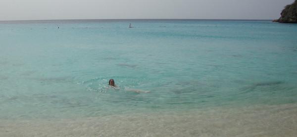 Zwemmen bij de Grote Knip