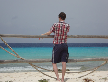 Chillen op Klein Curacao
