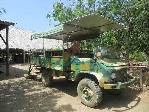 Jeeptour Ostrich Farm Curacao