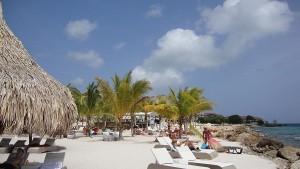 Zonnen op Curacao