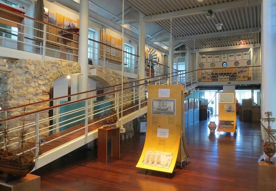 Maritiem Museum interieur