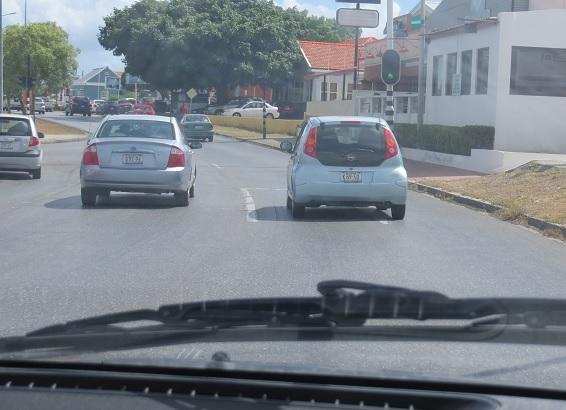 Rijden in Willemstad