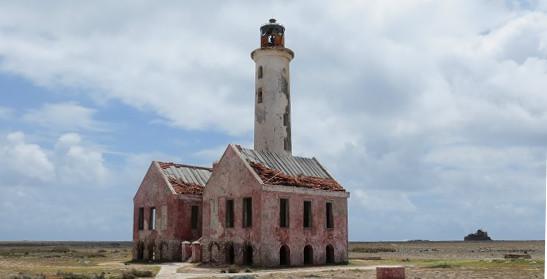 Ruïne van de vuurtoren van Klein Curacao