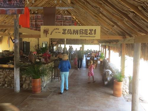 Zambezi restaurant Curacao